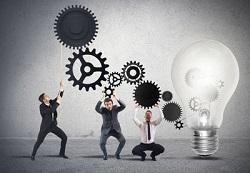 Teamwork powering an idea