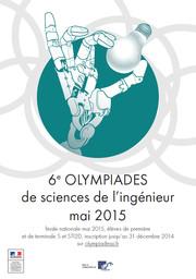 Affiche 6eme Olympiade 2015