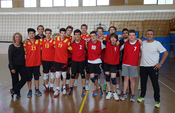 Qualification Championnat de France cadets UNSS Volley Eucalyptus Avril 2016 C