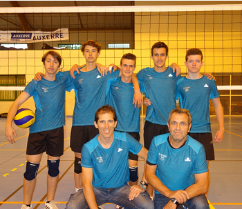 Championnats France Volleyball Cadets UNSS 2016 A