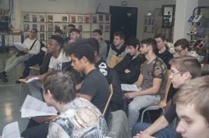 Collège première rencontres lycée Junior