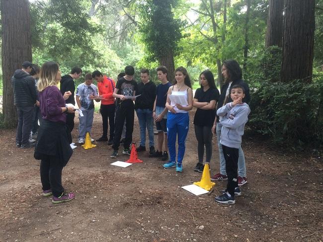 Projet Engagement Citoyen Course Oorientation Mai 2017 J