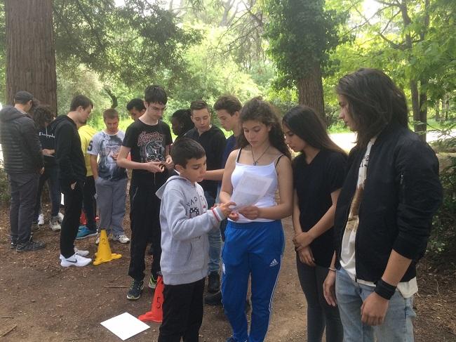Projet Engagement Citoyen Course Oorientation Mai 2017 K