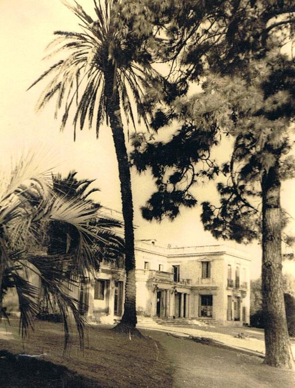 Villa Les Eucalyptus en 1944