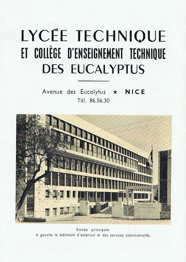 Entrée principale 1964.