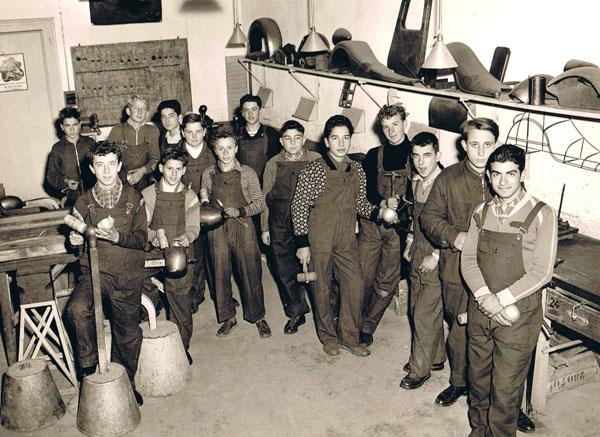 1951 Atelier de tôlerie